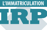 Guide sur l'immatriculation IRP 2016.