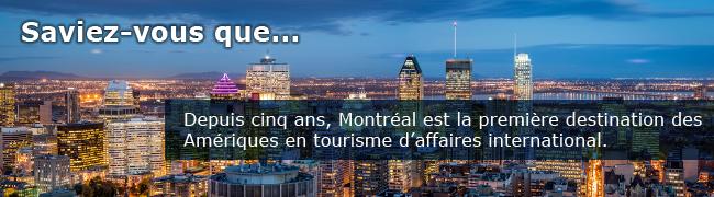 Le tourisme d'affaires international.
