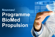 Nouveau programme BioMed Propulsion.