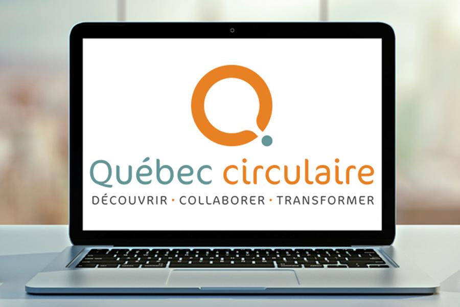 Lancement de la plateforme Québec Circulaire.