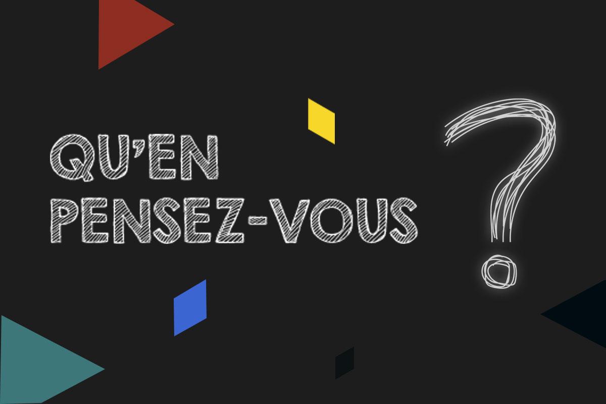 Sondage de satisfaction à l'égard d'Entreprises Québec.